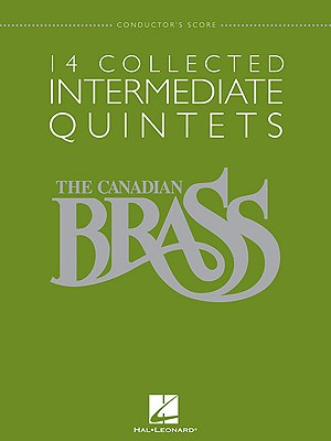 14 Collected Intermediate Quintets By Hal Leonard Publishing Corporation (COR)